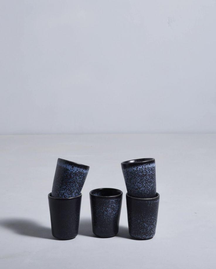 Turmalina Espressobecher schwarz 3