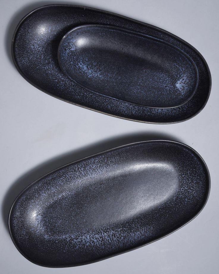 Turmalina Servierplatte L schwarz 3