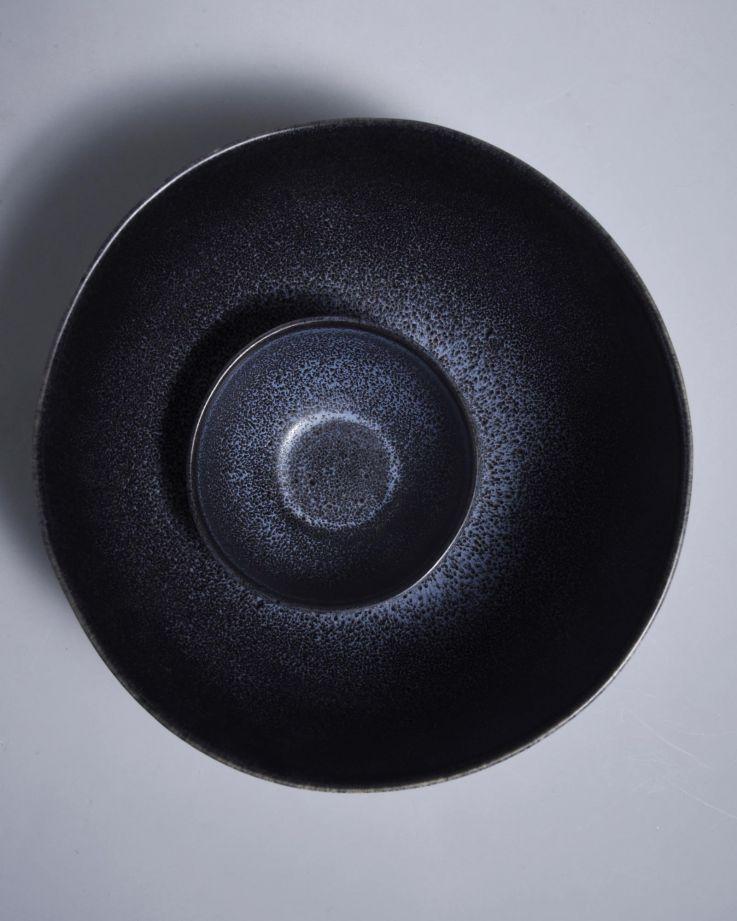Turmalina Servierschale schwarz 2