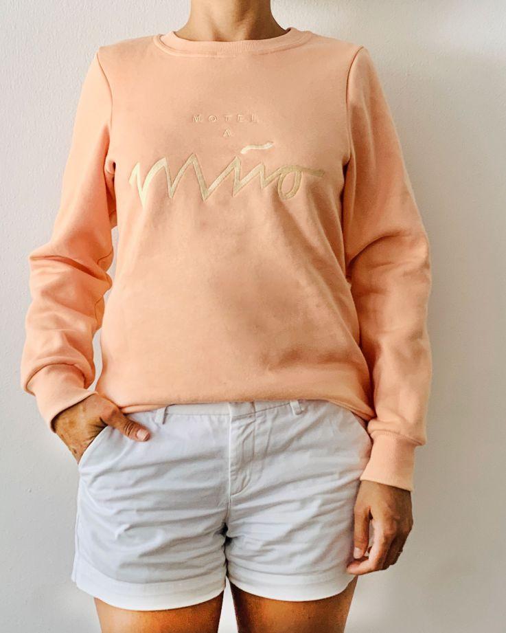Girls Sweatshirt Peach 3