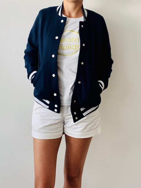Girls College Jacke navy 4