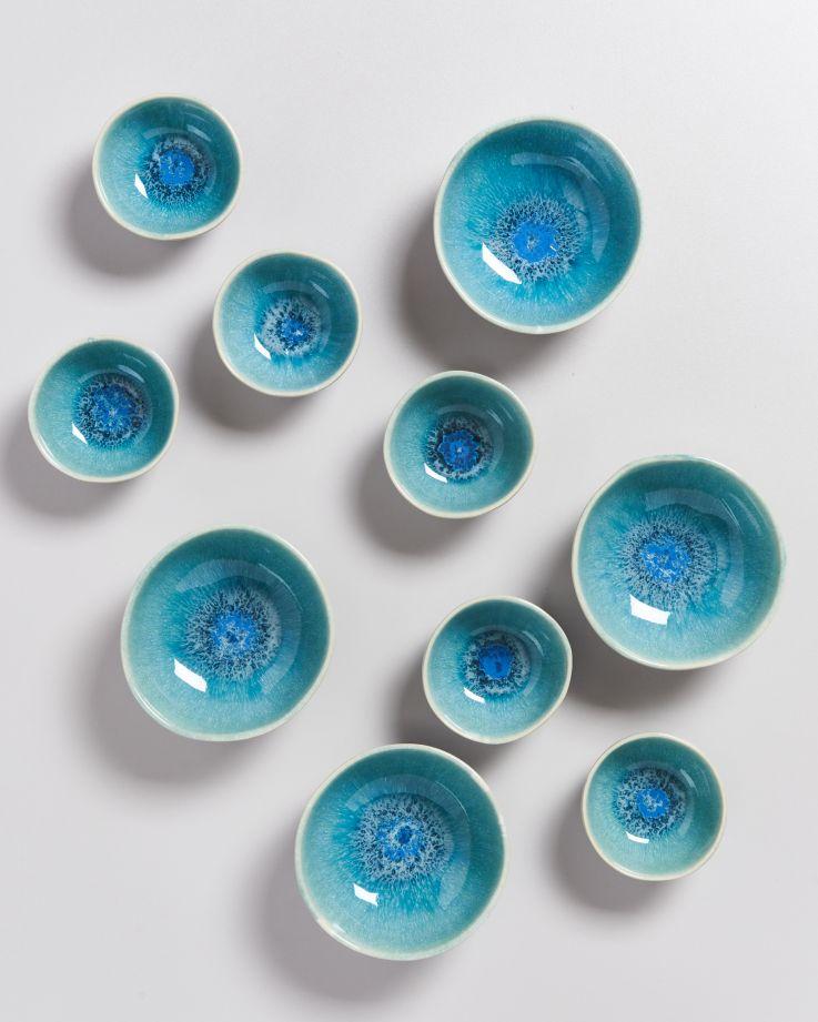 Alcachofra Saucenschälchen 11 cm grünblau 4