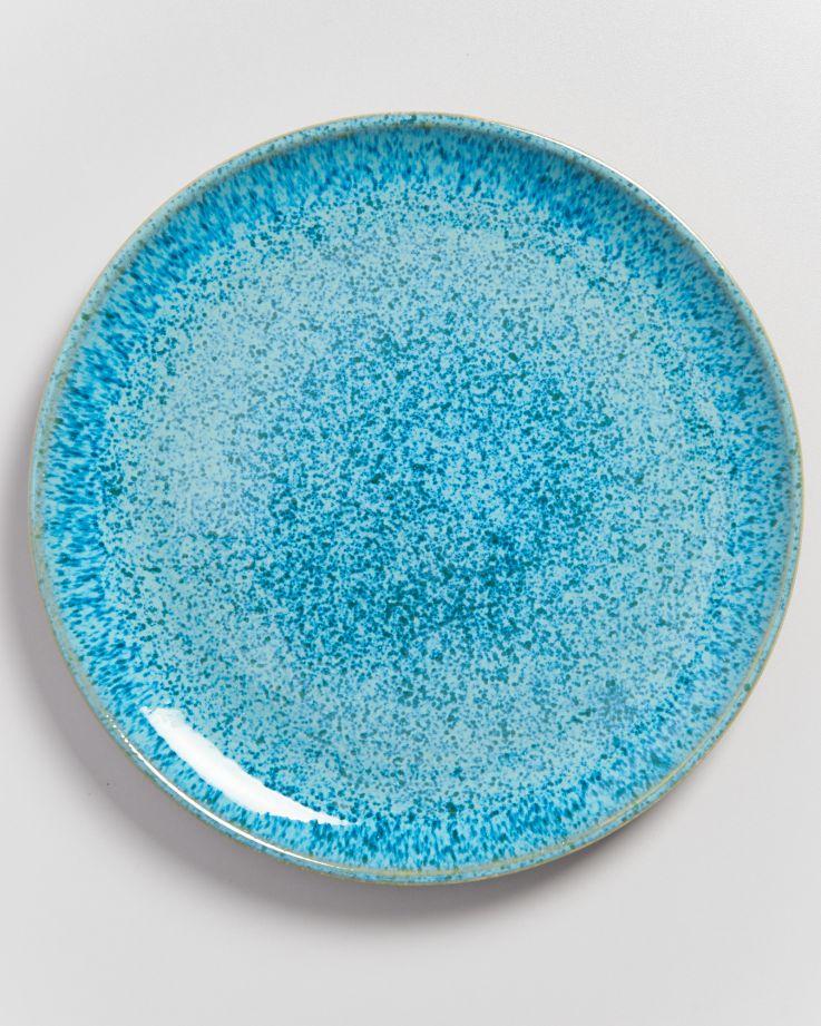 Areia Teller groß aqua 4