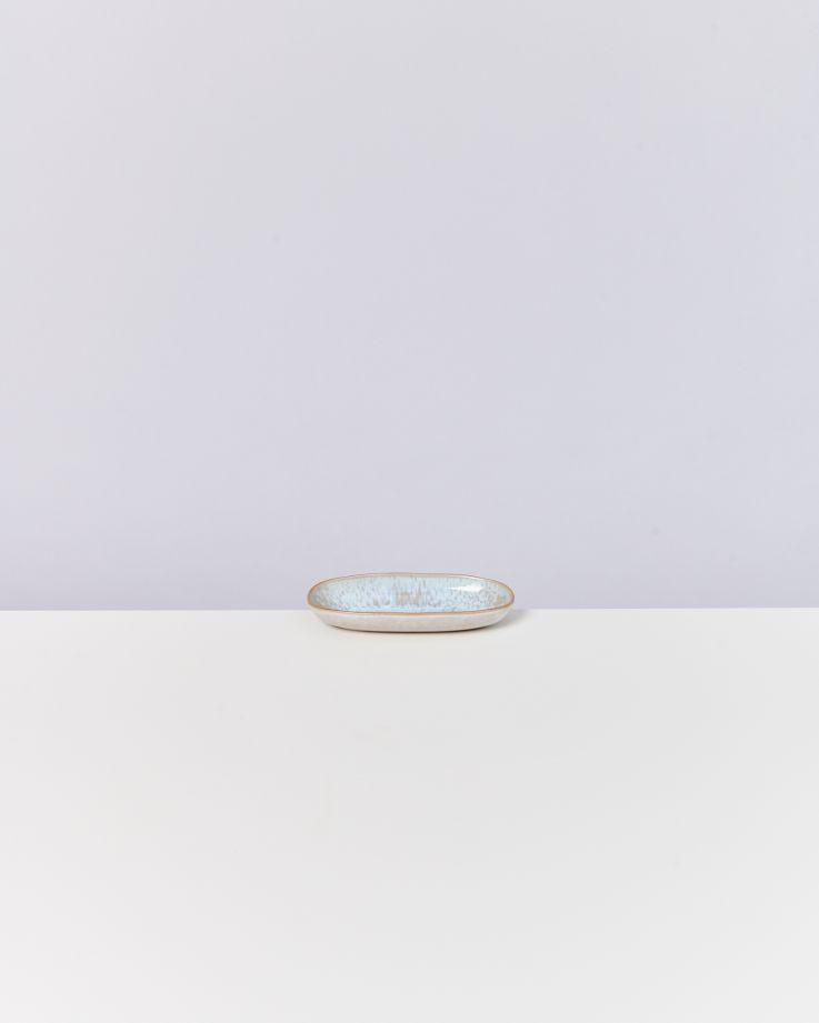 Areia Servierplatte S mit Goldrand azur 4