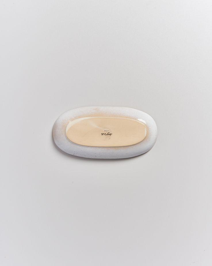 Areia Servierplatte M mit Goldrand mint 4