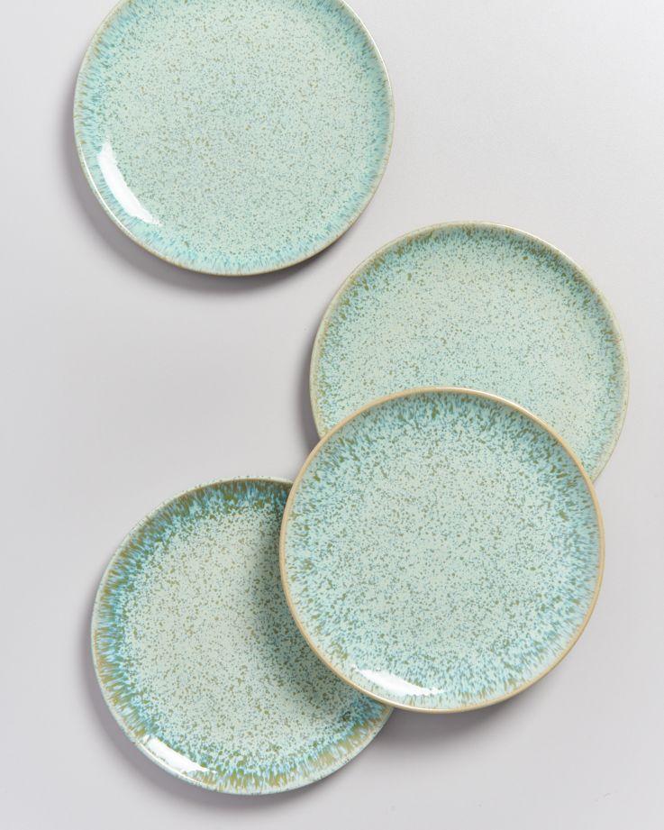 AREIA - Plate small mint 4
