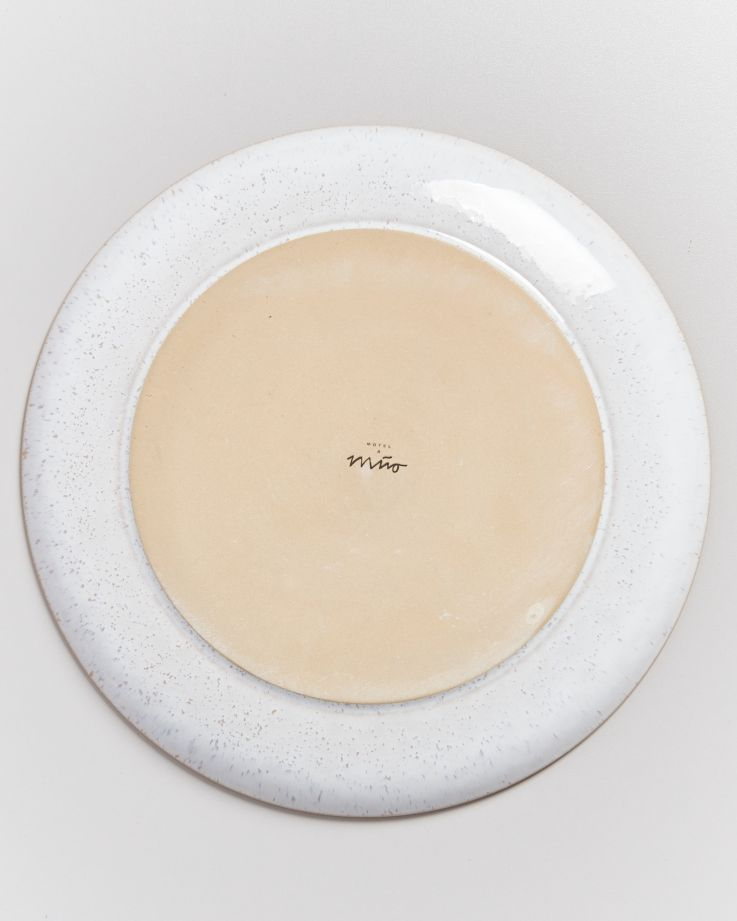 AREIA -Plate large pink 4
