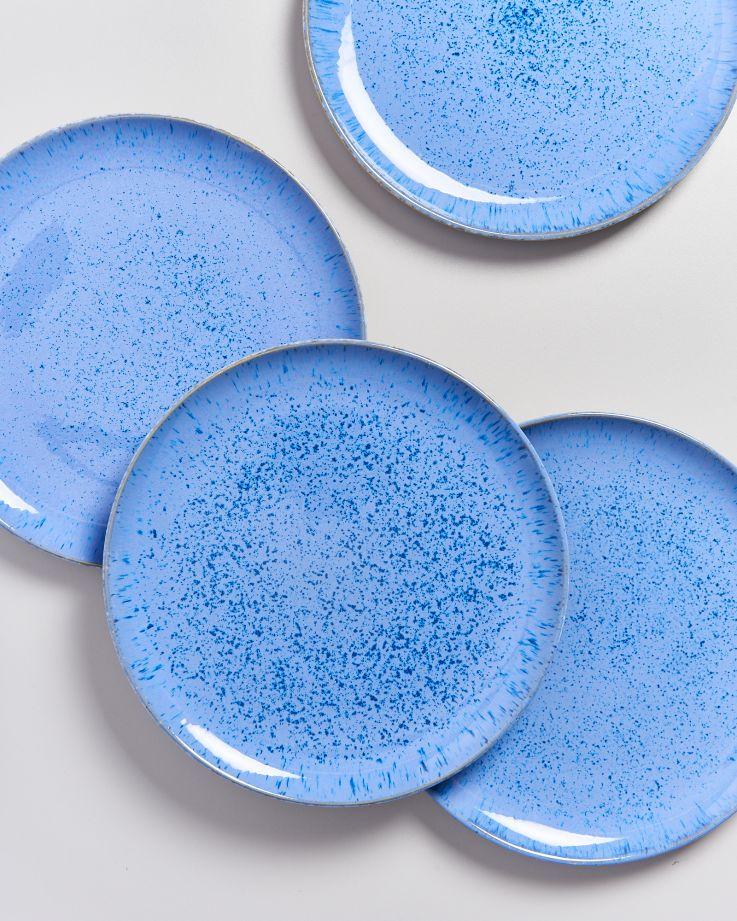 Areia Teller groß royalblau 3