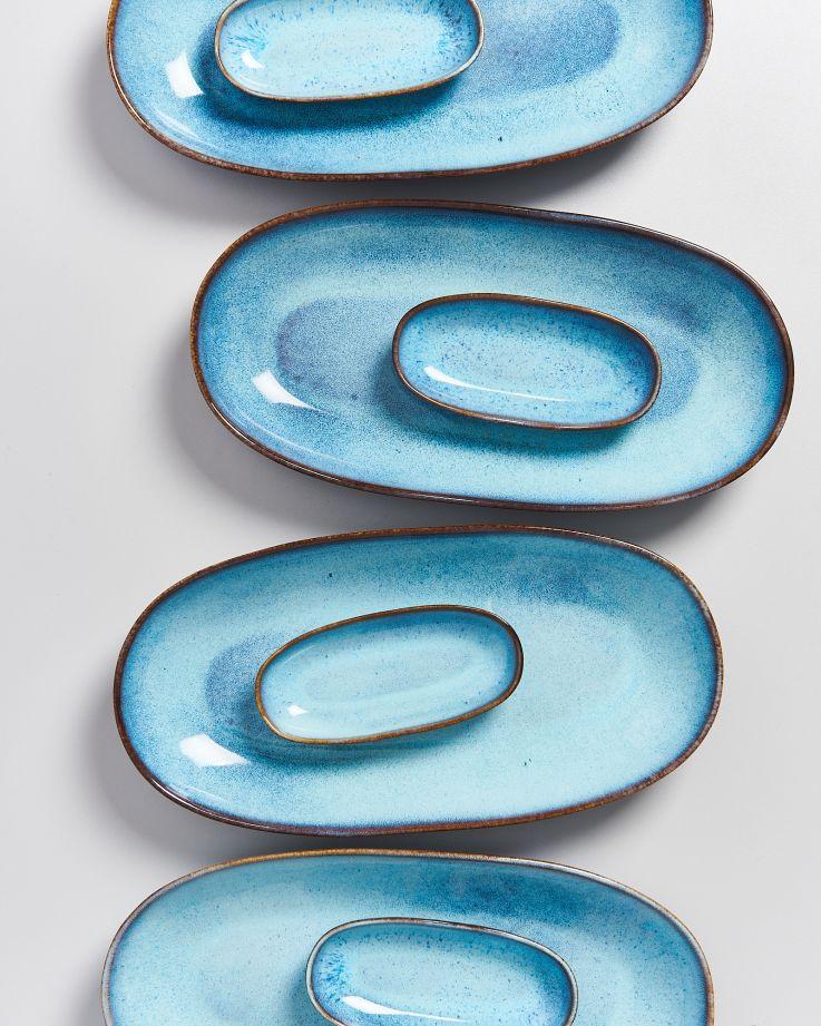 AREIA - Serving Platter S teal 4