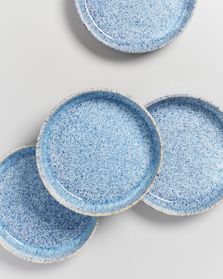 Cordoama Pastateller blau gesprenkelt 4