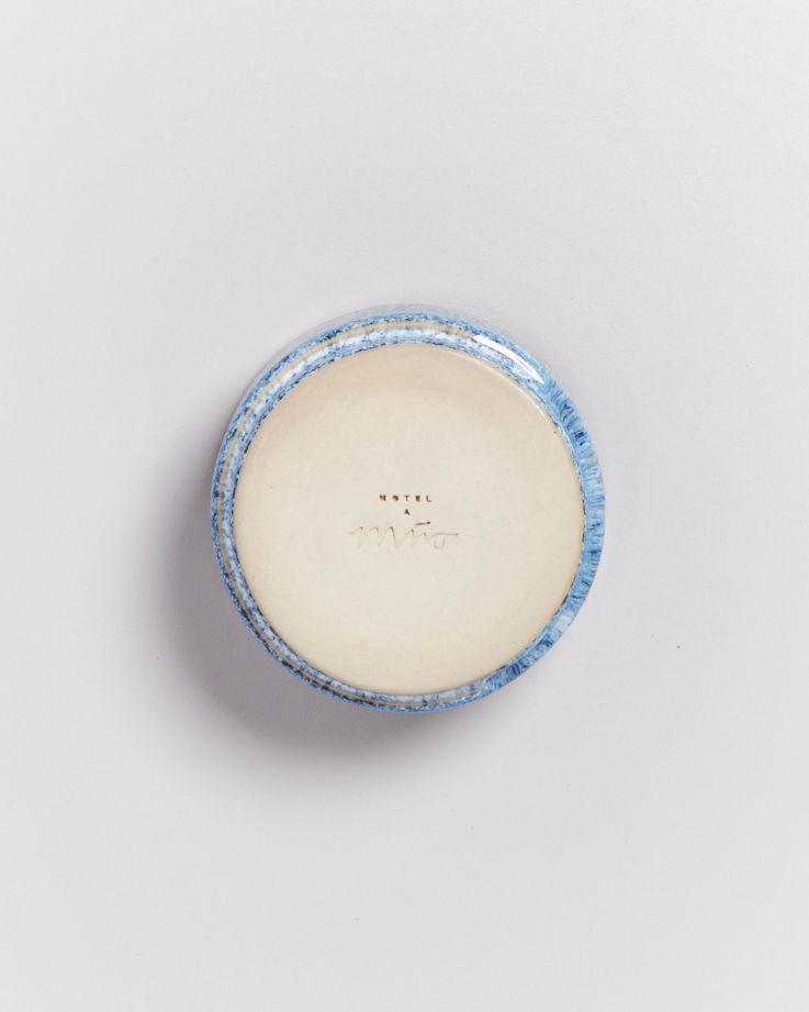 Cordoama Saucenschälchen 9 cm blau gesprenkelt 4