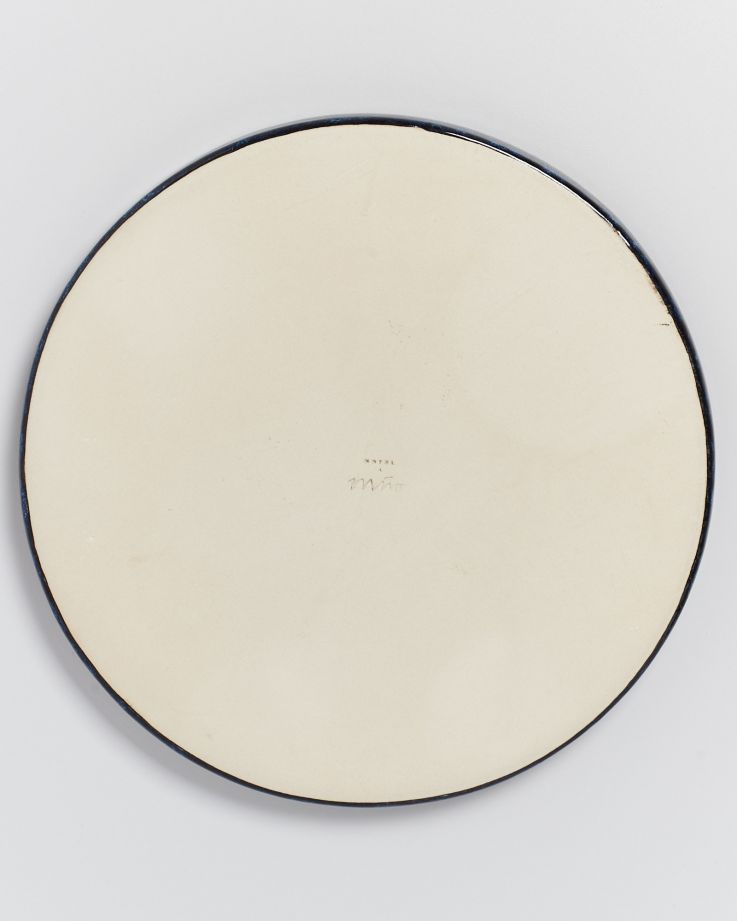 Cordoama Teller groß dunkelblau 4