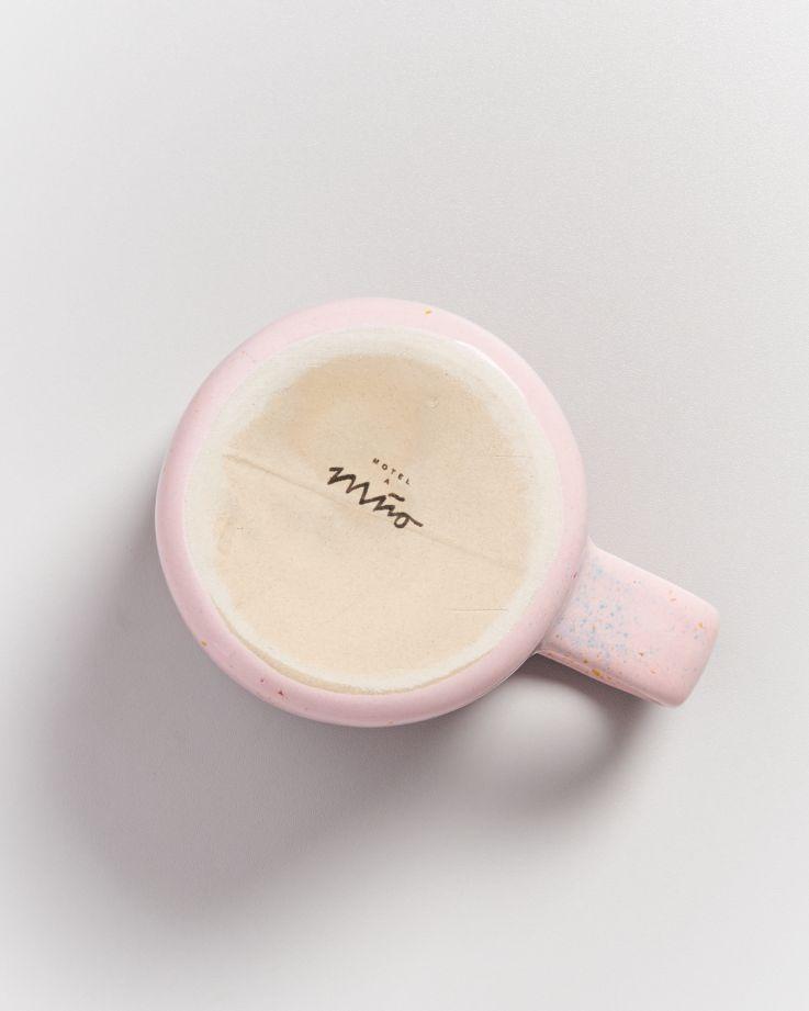 Nódoa Tasse rosa gesprenkelt 4