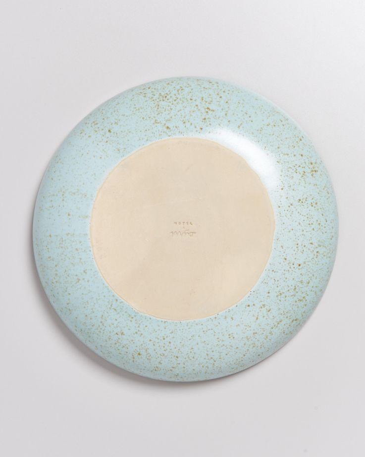 Tavira Servierschale mint dots 4