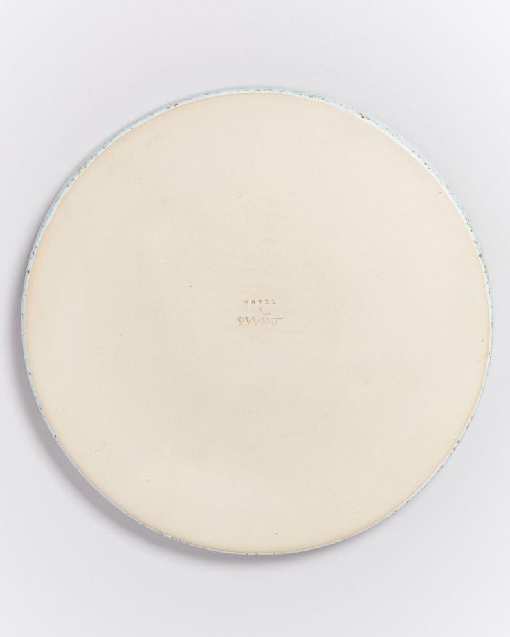 Tavira Teller groß mint dots 4