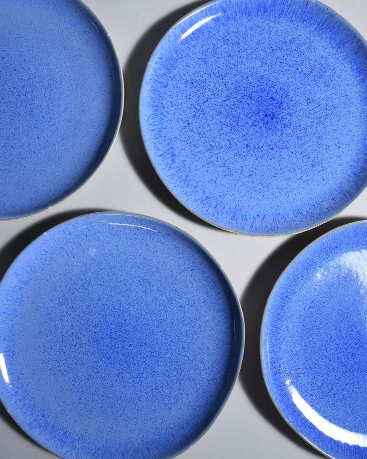 Areia Teller gross royal blau 3