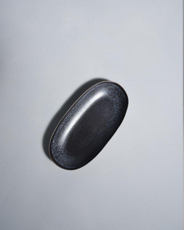 Turmalina Servierplatte M schwarz 4