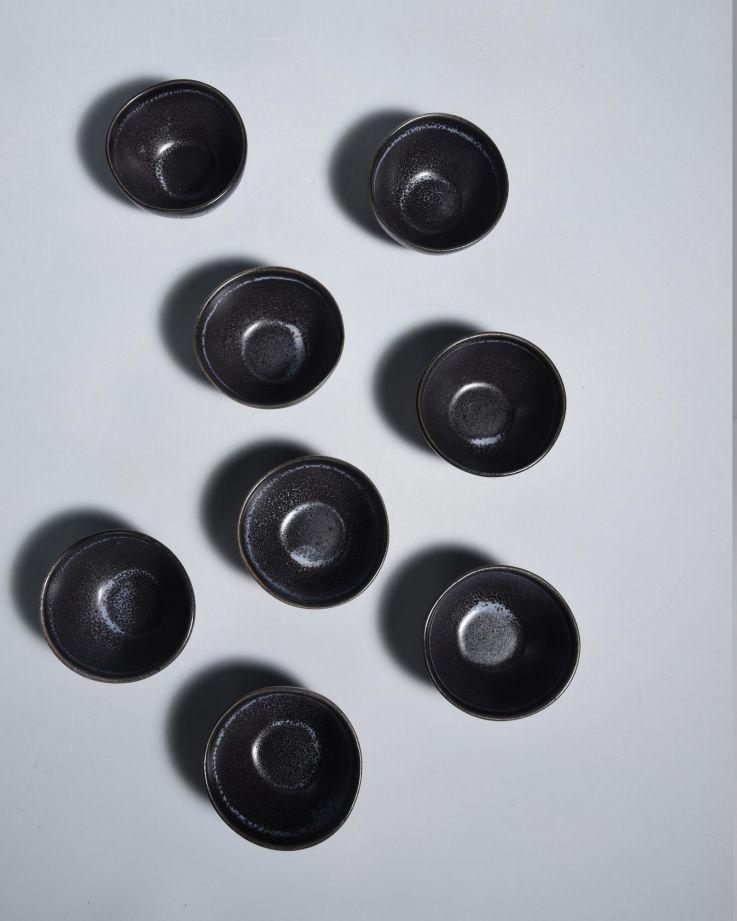 Turmalina Saucenschälchen schwarz 3