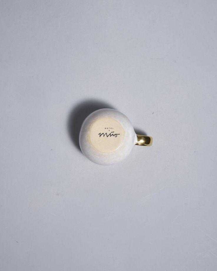 Areia Espressotasse mint mit Gold 4