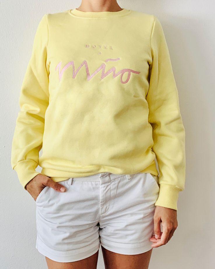 Girls Sweatshirt Lemon 4