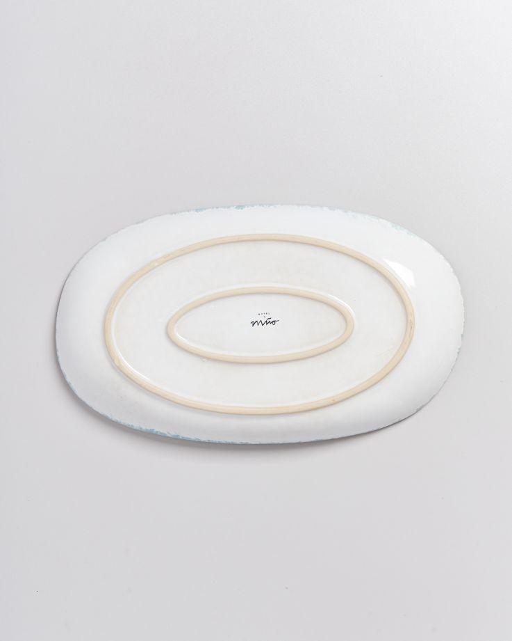 ALCACHOFRA - Serving Platter L greenblue 4