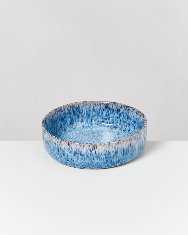 Cordoama blau gesprenkelt - 16 teiliges Set 5