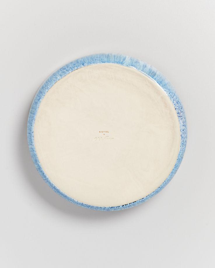 Cordoama Pastateller blau gesprenkelt 5