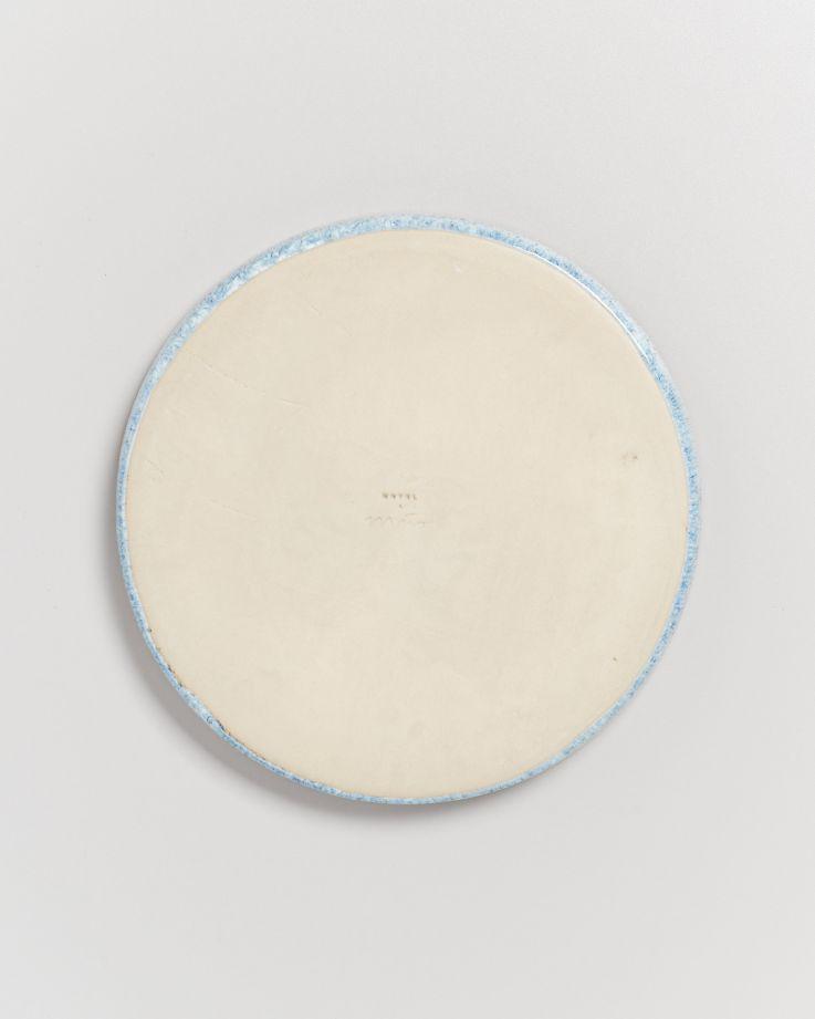 Cordoama Teller klein blau gesprenkelt 4