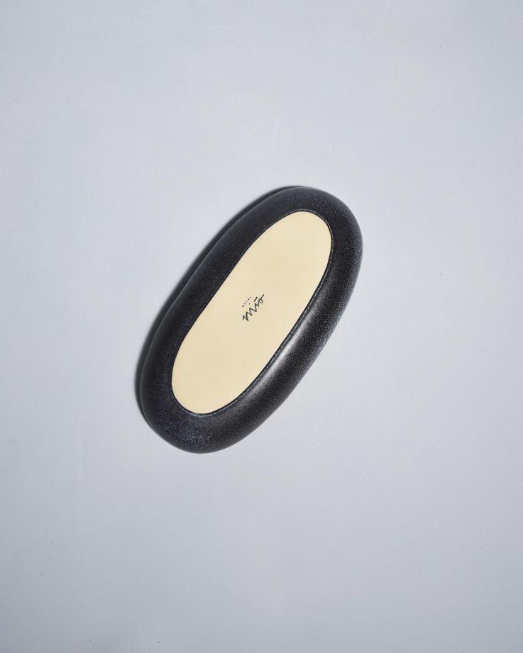 Turmalina Servierplatte M schwarz 5