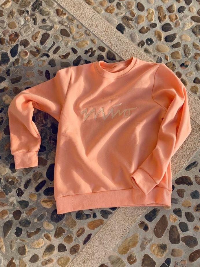 Girls Sweatshirt Peach 5