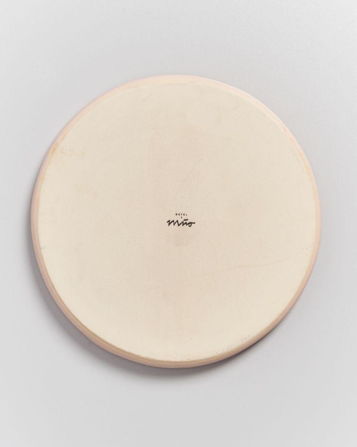MACIO - Plate large rose 6