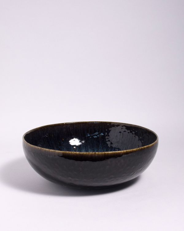 Alachofra - Servierschale tief schwarz